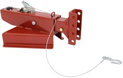Demco Hydraulic Brake Actuator - Drum - Primed - A-Frame - Adjustable Channel Center - 8,000 lbs