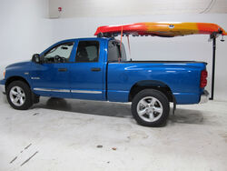 Darby Extend-A-Truck Kayak Carrier w/ Hitch Mounted Load Extender and Single-Bar Roof Rack - DTA944-968-924