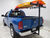 watersport carriers darby kayak canoe hitch mount carrier in use
