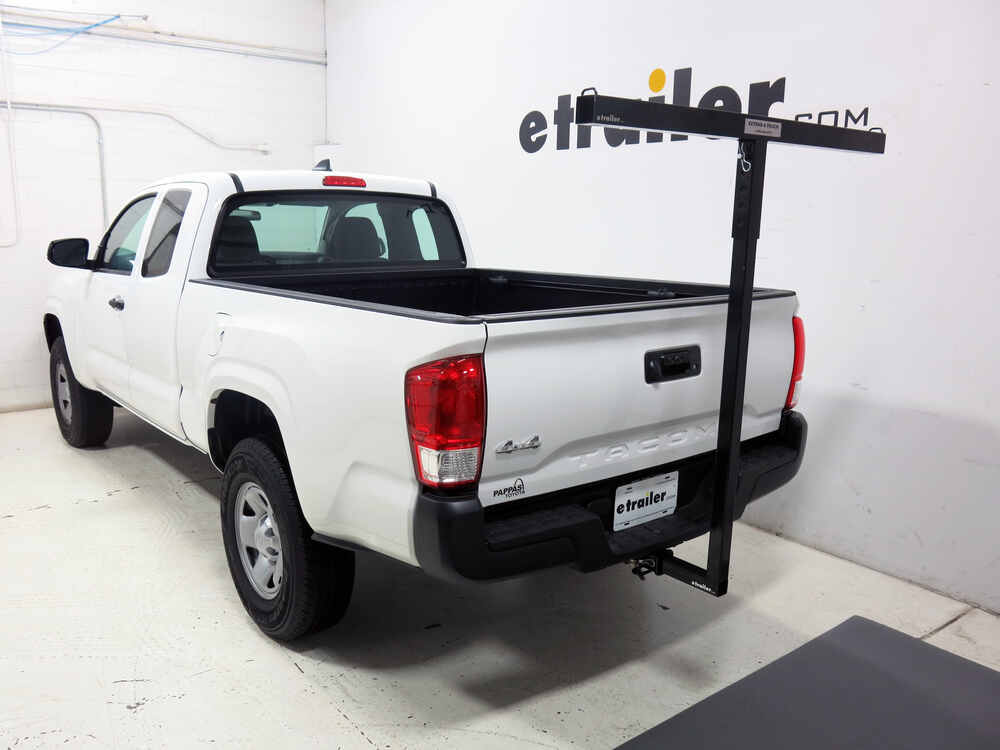 Toyota Tacoma Darby Extend A Truck Hitch Mounted Load