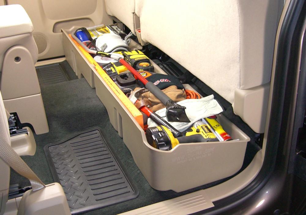 2015 Chevrolet Silverado Du-ha Truck Storage Box And Gun Case - Under Rear Seat