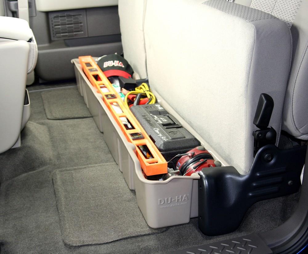 Du Ha Truck Storage Box And Gun Case Under Rear Seat