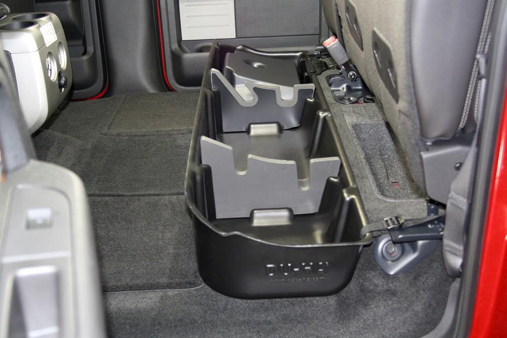 F150 Under Seat Storage >> 1992 Ford F-150 Du-Ha Truck Storage Box and Gun Case - Under Rear Seat - Gray