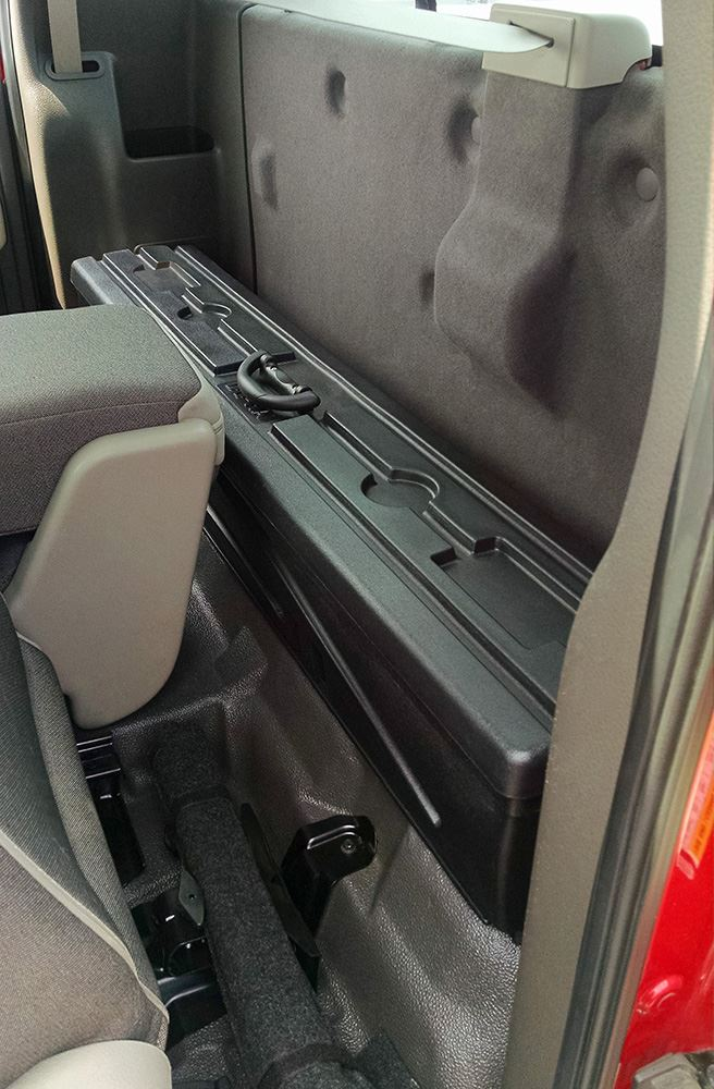 Ford F 150 Du Ha Truck Storage Box And Gun Case Behind
