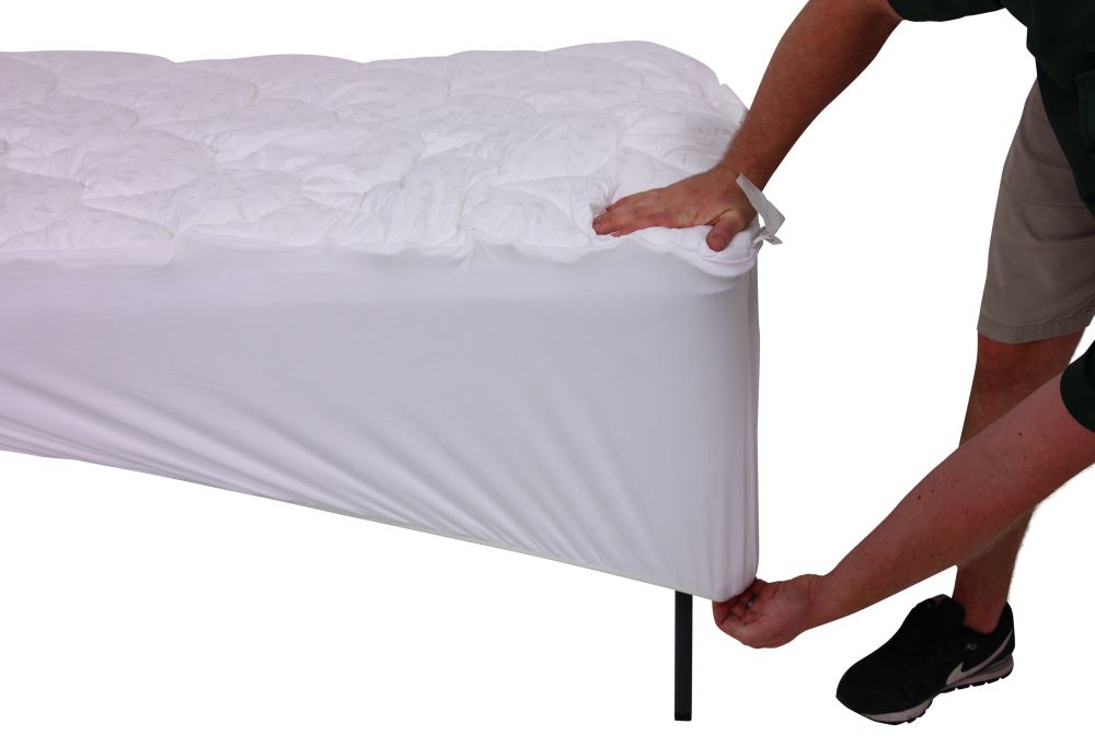 Denver Mattress Ultra Plush Short Queen Mattress Pad