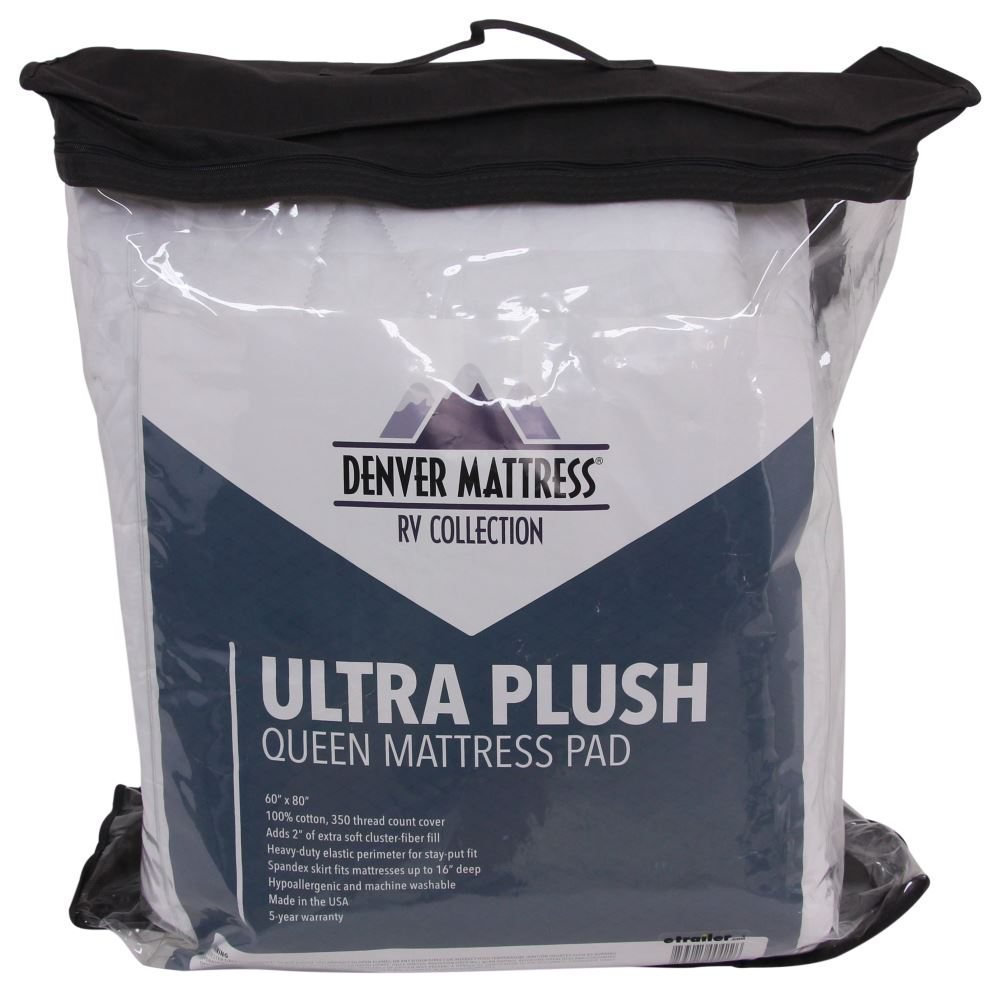 Denver Mattress RV Mattress Pad Ultra Plush Queen