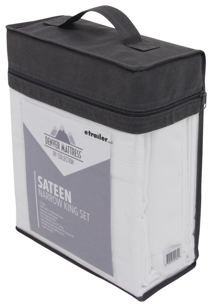Denver Mattress RV Sheet Set Sateen Narrow King