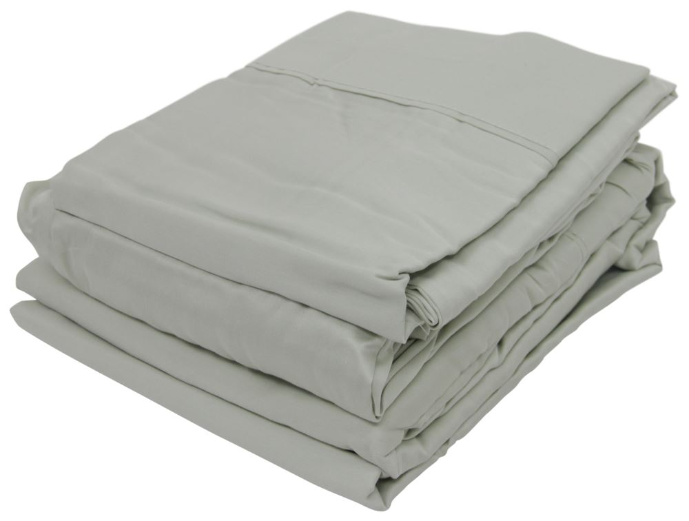 Denver Mattress Rv Sheet Set Sateen Short Queen Sage Denver Mattress Rv Bedroom Dv343507