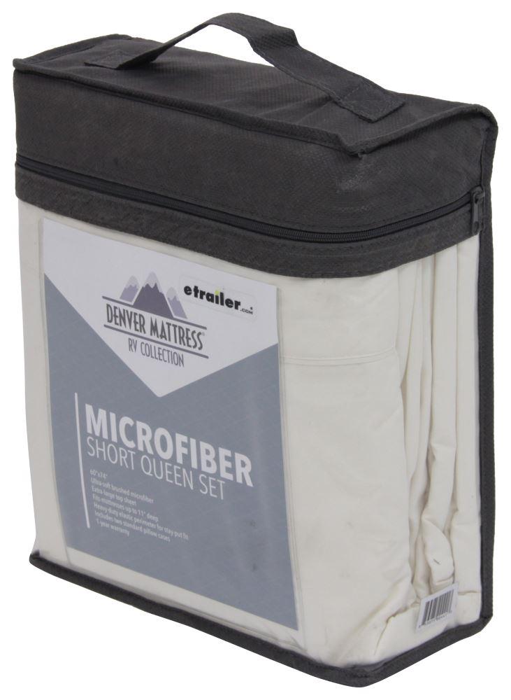 Denver Mattress RV Sheet Set Microfiber Short Queen