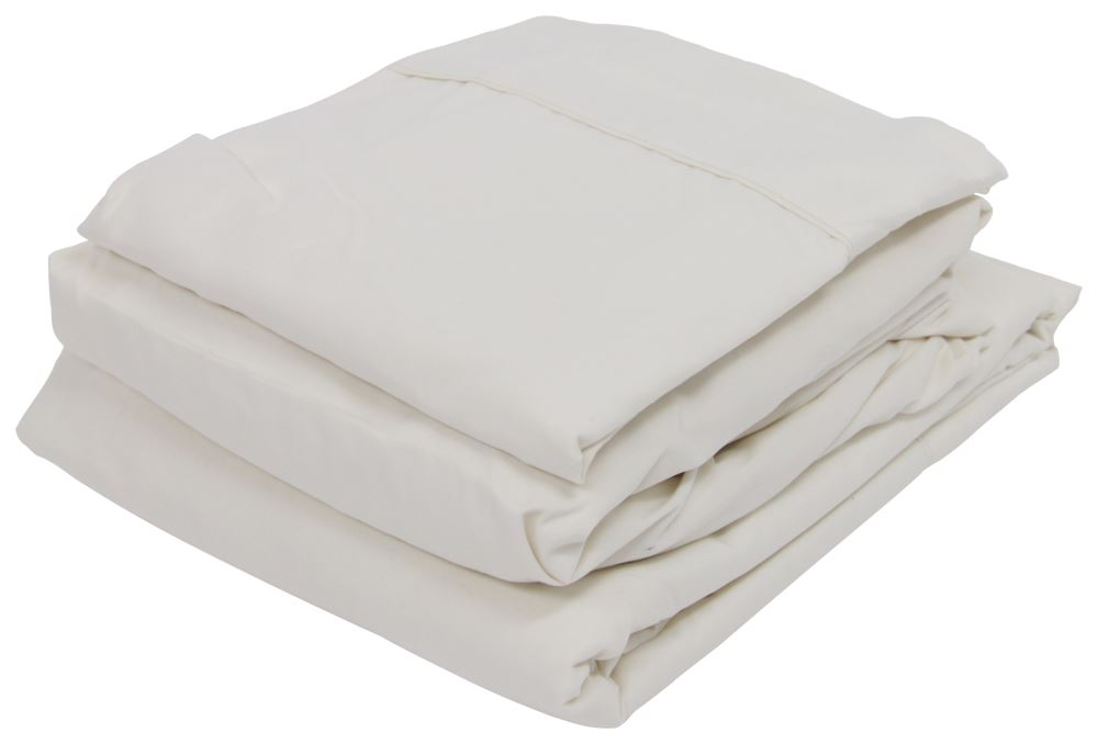 Denver Mattress Rv Sheet Set Microfiber Short Queen Ivory Denver Mattress Rv Bedroom Dv343515