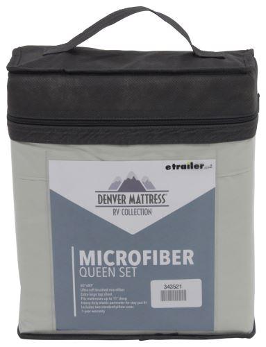 Denver Mattress RV Sheet Set Microfiber Queen Sage