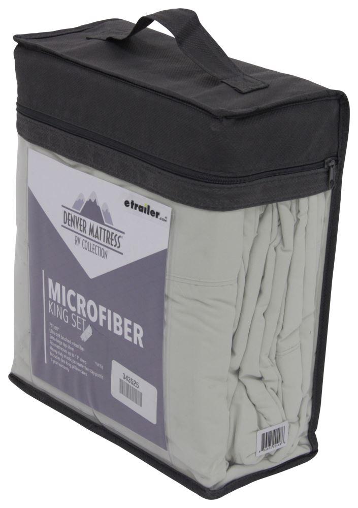 Denver Mattress RV Sheet Set Microfiber King Sage