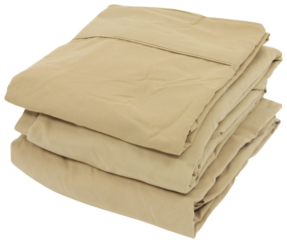 Denver Mattress Rv Sheet Set Microfiber Short Queen Latte Denver Mattress Rv Bedroom Dv343526