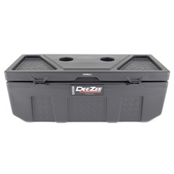 DeeZee Specialty Series Storage Box - Chest Style - Poly Plastic - 3.6 Cu Ft - Black