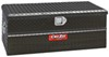 DeeZee Red Label Truck Bed Toolbox - Utility Chest Style - Aluminum - 6.4 Cu Ft - Black