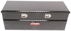 DeeZee Red Label Truck Bed Toolbox - Utility Chest Style - Aluminum - 8 Cu Ft - Black