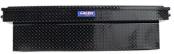 DeeZee Blue Label Truck Bed Toolbox - Crossover Style - Aluminum - 12.8 Cu Ft - Black