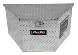 DeeZee Specialty Series Trailer Tongue Toolbox - A-Frame - Aluminum - 3.71 Cu Ft - Silver