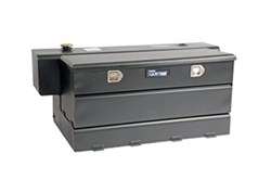 DeeZee Specialty Series Transfer Tank/Toolbox Combo - Steel - 50 Gallon - 4.1 Cu Ft - Black