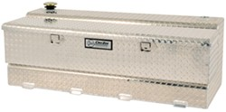 DeeZee Specialty Series Transfer Tank/Toolbox Combo - Aluminum - 50 Gallon - 4.1 Cu Ft - Silver