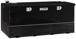 DeeZee Specialty Series Transfer Tank/Toolbox Combo - Aluminum - 92 Gallon - 10.21 Cu Ft - Black