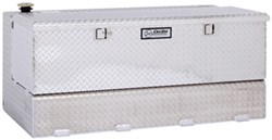 DeeZee Specialty Series Transfer Tank/Toolbox Combo - Aluminum - 92 Gallon - 10.21 Cu Ft - Silver