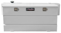 DeeZee Specialty Series Transfer Tank/Toolbox Combo - Steel - 84 Gallon - 8.7 Cu Ft - White