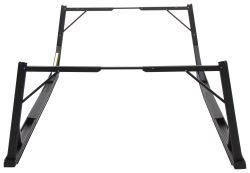 Invis-A-Rack Folding Ladder Rack - Black Powder Coated Aluminum - 500 lbs