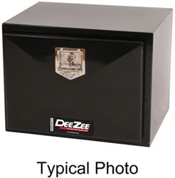 DeeZee Specialty Series Underbody Toolbox - Steel - 4.5 Cu Ft - Black