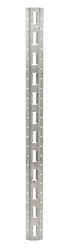 Erickson Vertical E-Track - Zinc Coated Steel - 2,000 lbs - 4' Long - Qty 1