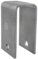 "Front/Center/Rear Hanger for Double-Eye Springs - 4-1/4"" Tall - 9/16"" Bolt Hole"