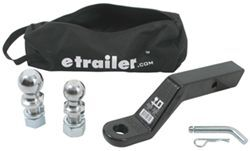 "etrailer.com Ball Mount Kit - 3"" Rise or 4"" Drop - 16,000 lbs - EBMK2416"