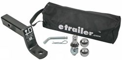 "etrailer.com 2-3/4"" Rise or 4"" Drop Ball Mount Kit - 7,500 lbs"