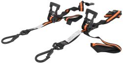 "Erickson Big Hook Ratchet Tie-Down Straps w/ Swivel Hooks - 1-1/2"" x 8' - 667 lbs - Qty 2"
