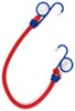 "Erickson Power Pull Bungee Cord - Wire Hooks w/ Pull Loops - 18"" Long"
