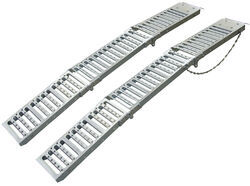 "Erickson Arched Loading Ramp Set - Tri-Fold - Steel - 72"" Long x 9"" Wide - 1,000 lbs"