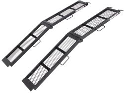 "Erickson Arched Loading Ramp Set - Center Fold - Steel - 80"" Long x 11"" Wide - 1,600 lbs"