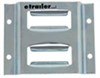 "Erickson 2-Slot Horizontal E-Track - Zinc Coated Steel - 2,000 lbs - 4"" Long - Qty 1"