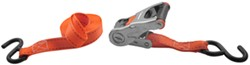 "Erickson Ratchet Tie-Down Strap w/ Web Clamp and S-Hooks - 1"" x 15' - 500 lbs"