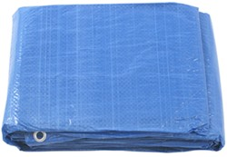 Erickson All-Purpose Blue Tarp, 8 x 8 Weave - 18' x 24'