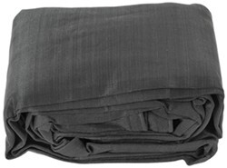 Erickson Mesh Tarp and Truck Bed Cover - Heavy Duty - Black - 12' x 16'
