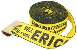 "Erickson Tie-Down Strap for Truck and Trailer Winch - Flat Hook - 3"" x 40' - 5,000 lbs"