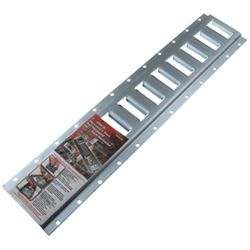 Erickson Horizontal E-Track - Zinc Coated Steel - 6,000 lbs - 2' Long - Qty 1