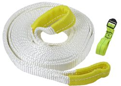 "Erickson Recovery Strap w/ Reinforced Loop Ends - 1"" x 15' - 3,750 lbs Max Vehicle Weight"