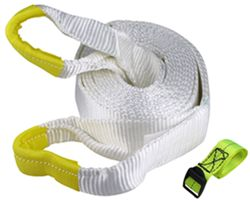 "Erickson Recovery Tow Strap with Reinforced Loop Ends, 3"" x 20' - 27,000 lbs"