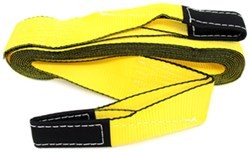 "Erickson Tow Strap with Reinforced Loop Ends - 3"" x 30' - 7,500 lbs Max Vehicle Weight"