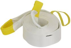 "Erickson Recovery Strap w/ Reinforced Loop Ends - 4"" x 30' - 17,500 lbs Max Vehicle Weight"