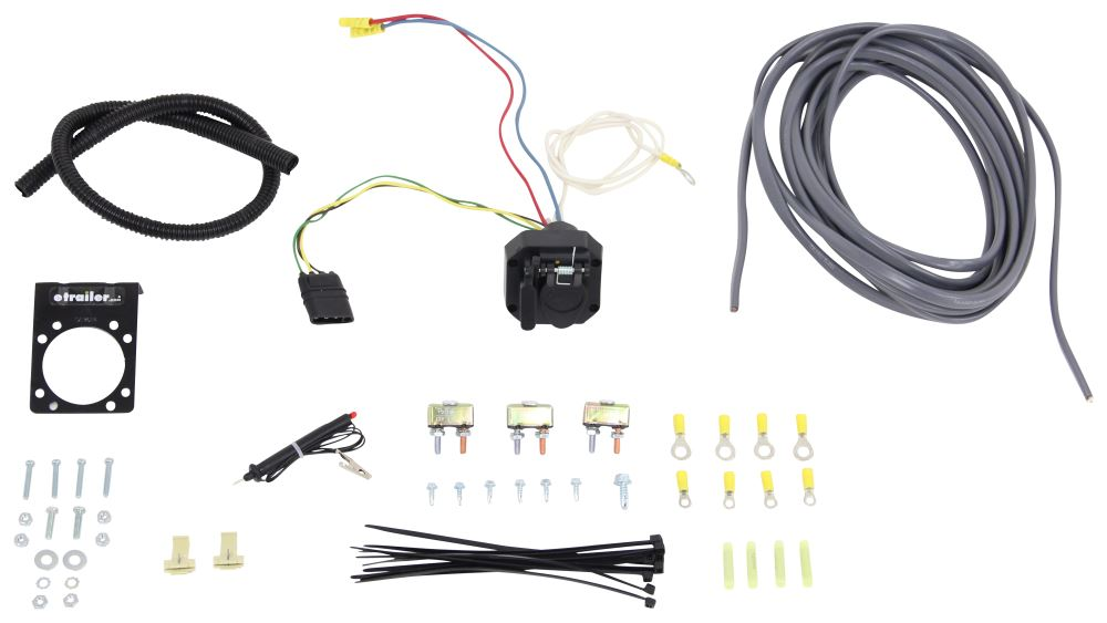 2009 toyota tacoma universal installation kit for trailer
