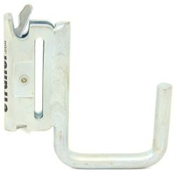Brophy J-Hook for E-Track - Square - Galvanized Zinc Coat
