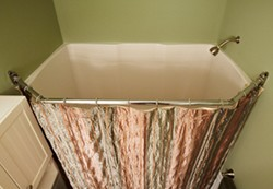 Shower Curtain Rod RV Bathroom